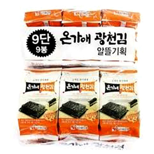 Star Food ONGAE Roasted Seaweed