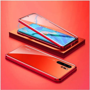 Upgraded Two Side Tempered Glass Magnetic Adsorption Phone Case For Huawei P30 P30Pro P30Lite P40 P40Pro P40Lite Mate20 Mate20Pro Mate20Lite Mate30 Mate30Pro