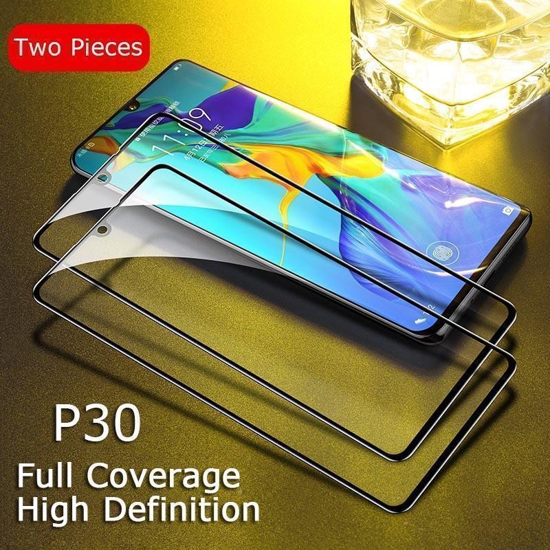 3D Full Coverage Curved Tempered Glass Screen Protector for Huawei Mate 20 20Pro P30 P30Pro