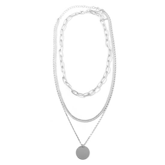 Circle Layered Necklace