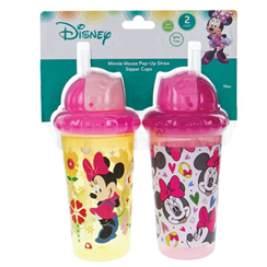 Disney Big Kid's Straw Cups
