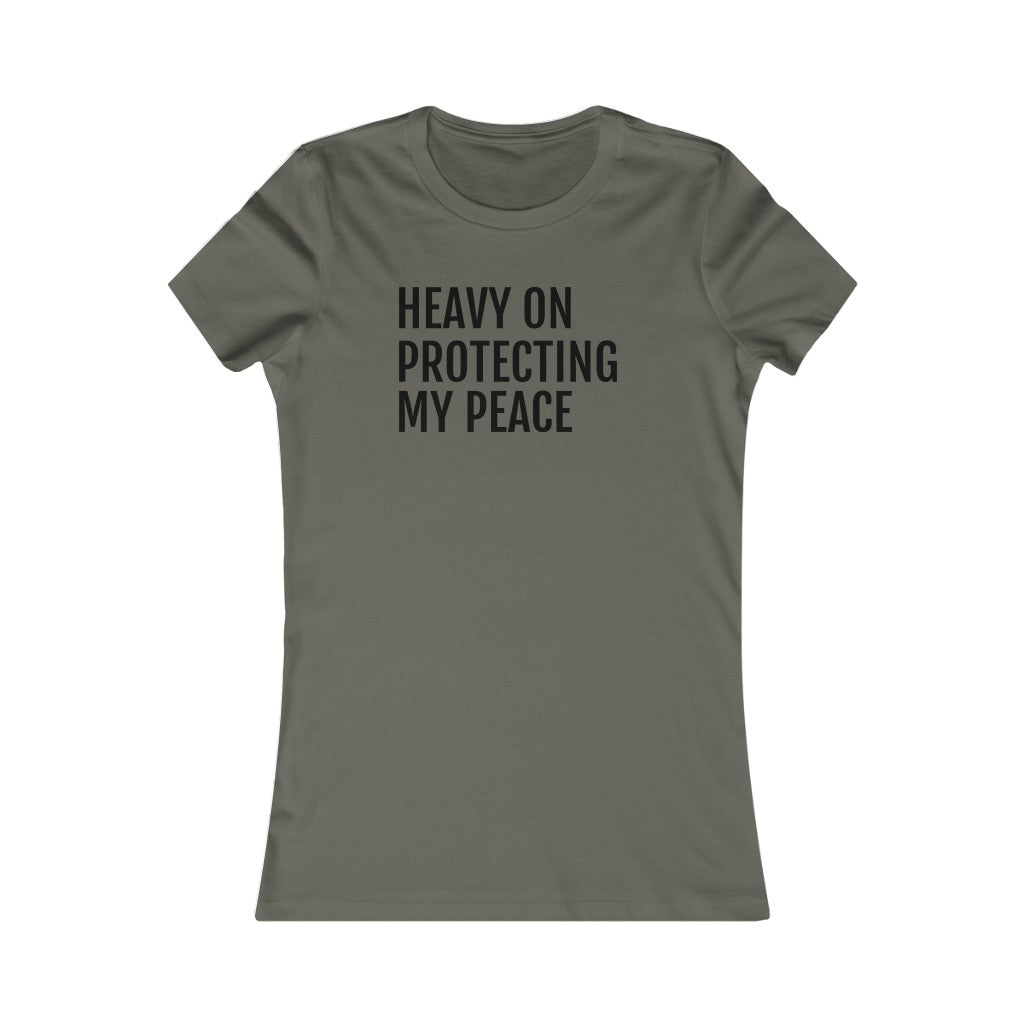 Protecting My Peace - Women's Favorite Tee