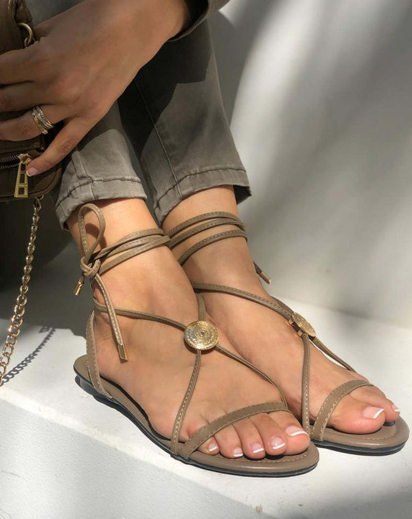With My Sands Dear Charlotte Sandals - 100% Sisters Concept Store