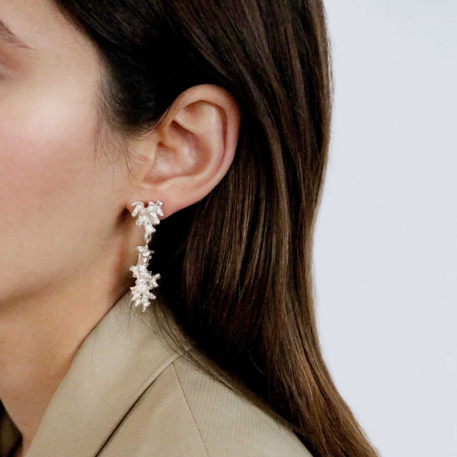Coral Earrings – Paula Vieira Jewellery