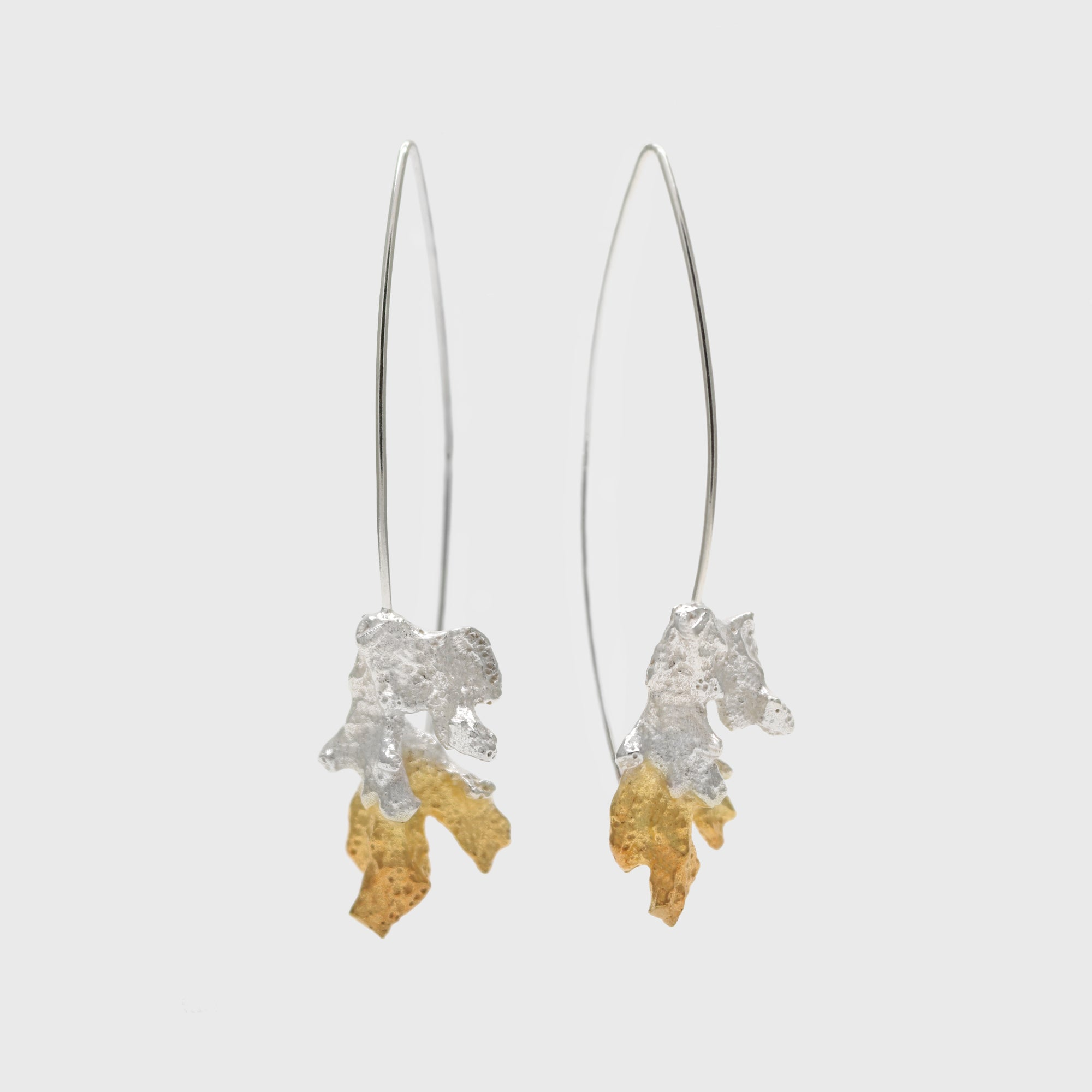 Coral Long Earrings – Paula Vieira Jewellery