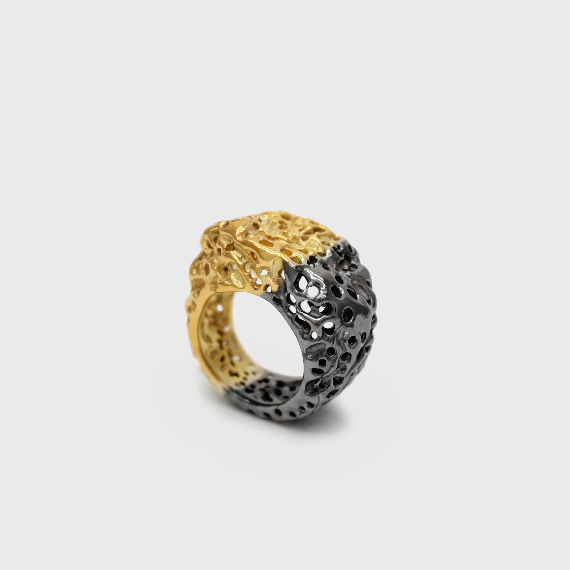 Vulcana Wave Ring II – Paula Vieira Jewellery
