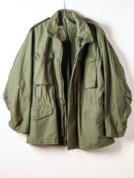 Vintage Green Army Jacket WINTER Coat Authentic Military Issue 1960-1990's Era
