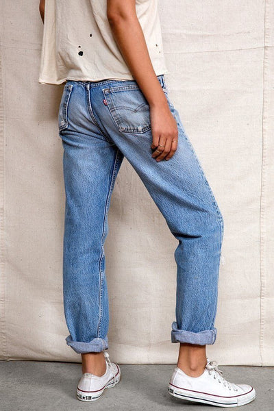 Vintage LEVI'S Boyfriend Jeans In Your Size Denim Levi Highwaist Vintage Distressed Jeans