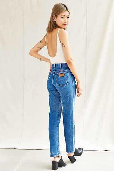 Vintage WRANGLER Jeans High Waist Denim All Sizes Custom Fit