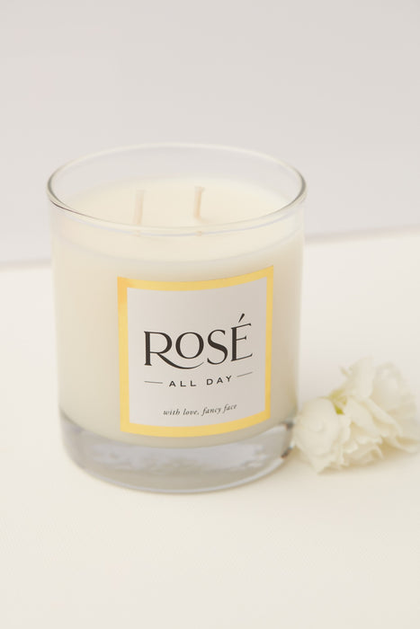 Rosé All Day Candle | Fancy Face