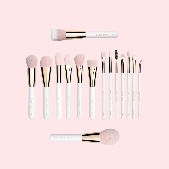 Blushing Gold Signature Brush Collection