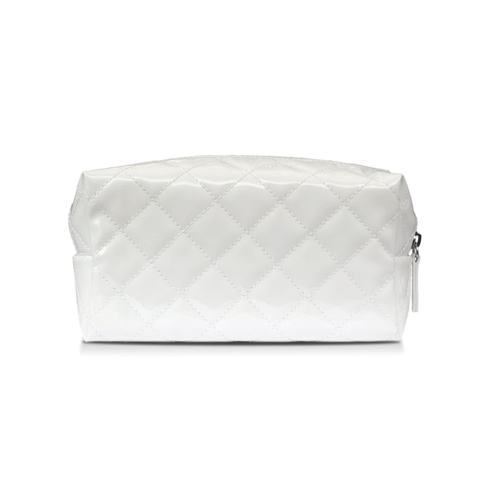 White Makeup Pouch | Shop Fancy Face