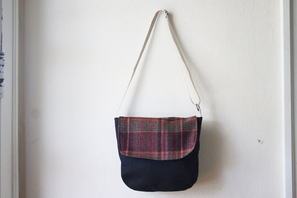 Messenger Cross Body Bag in Plaid - Multiple Color Options -  - Bag - Bliss Joy Bull - 4