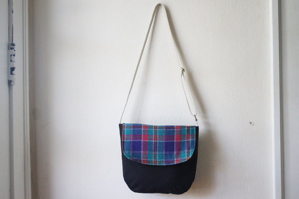 Messenger Cross Body Bag in Plaid - Multiple Color Options -  - Bag - Bliss Joy Bull - 7