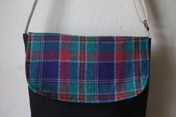 Messenger Cross Body Bag in Plaid - Multiple Color Options -  - Bag - Bliss Joy Bull - 8