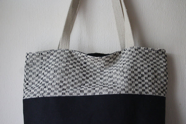 Canvas & Tweed Tote Bag -  - Bag - Bliss Joy Bull - 2