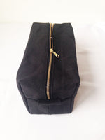 Load image into Gallery viewer, Large Waxed Canvas Toiletry Bag Dopp Kit