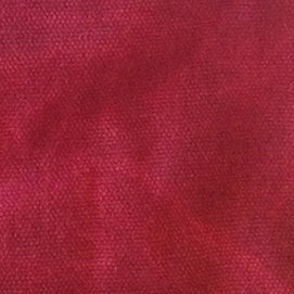 cranberry red waxed canvas fabric