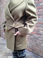 Load image into Gallery viewer, Vintage Olive Green Military Jacket -  - Vintage - Bliss Joy Bull - 5