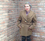 Load image into Gallery viewer, Vintage Olive Green Military Jacket -  - Vintage - Bliss Joy Bull - 7