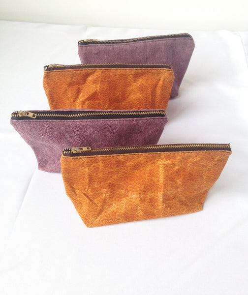 Small Waxed Makeup Bags -  - Bag - Bliss Joy Bull - 4