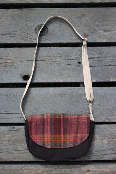 Mini Messenger Plaid Cross Body Bag - Multiple Color Options -  - Bag - Bliss Joy Bull - 2