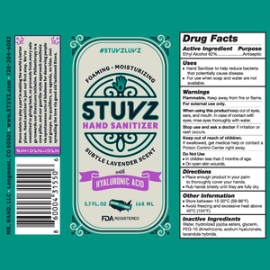 Stuvz Foaming Hand Sanitizer :: Pack of 3