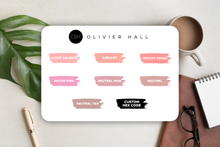 Load Image Into Gallery Viewer, Passion Planner Timeline Stickers - Solid Color