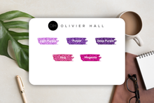 Load Image Into Gallery Viewer, Passion Planner Timeline Stickers - Glitter
