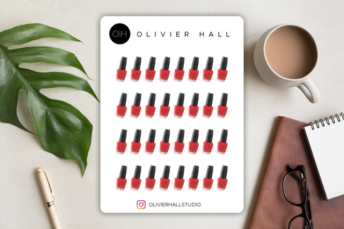red-nail-polish-planner-stickers