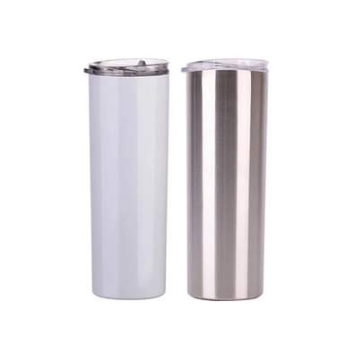 Sublimation Skinny Tumblers straight