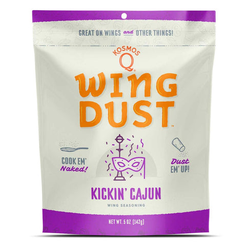 Kickin' Cajun Wing Seasoning (5oz)