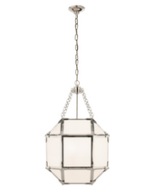 White Glass SM Lantern