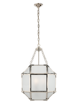 Frosted Glass SM Lantern