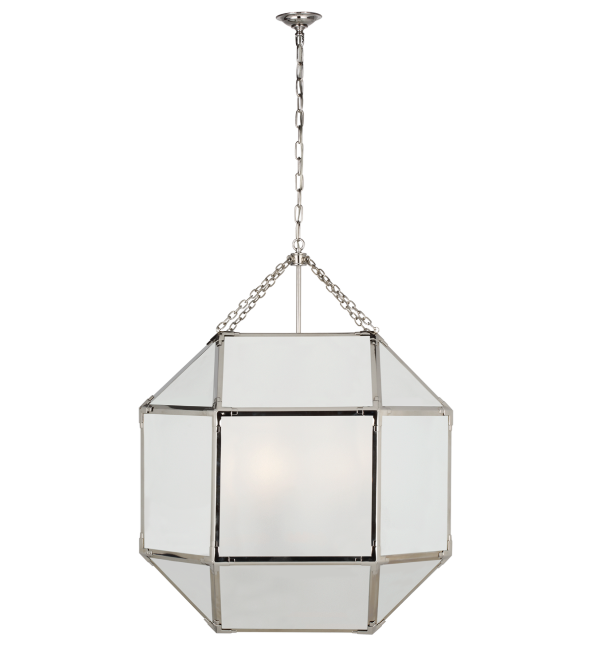 Frosted Glass XL Lantern
