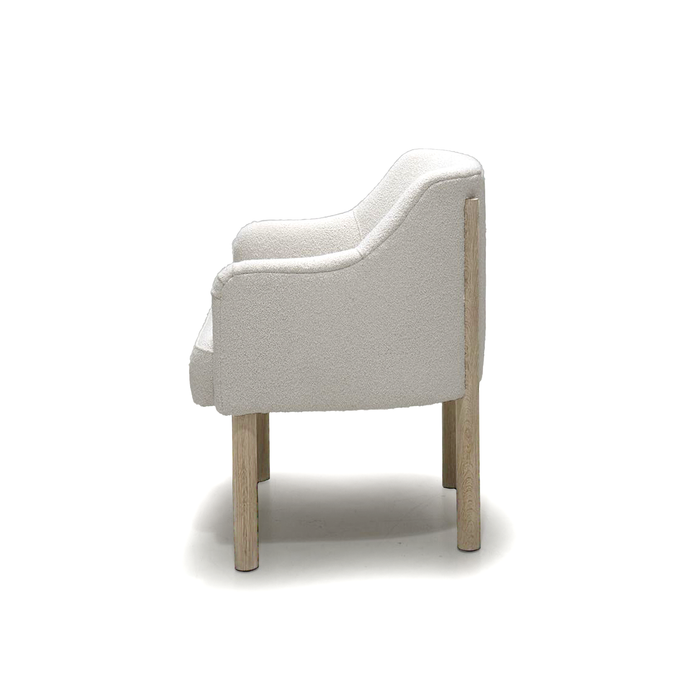 Shown in Rome Ivory. Oak finished in Mint White / Natural.
