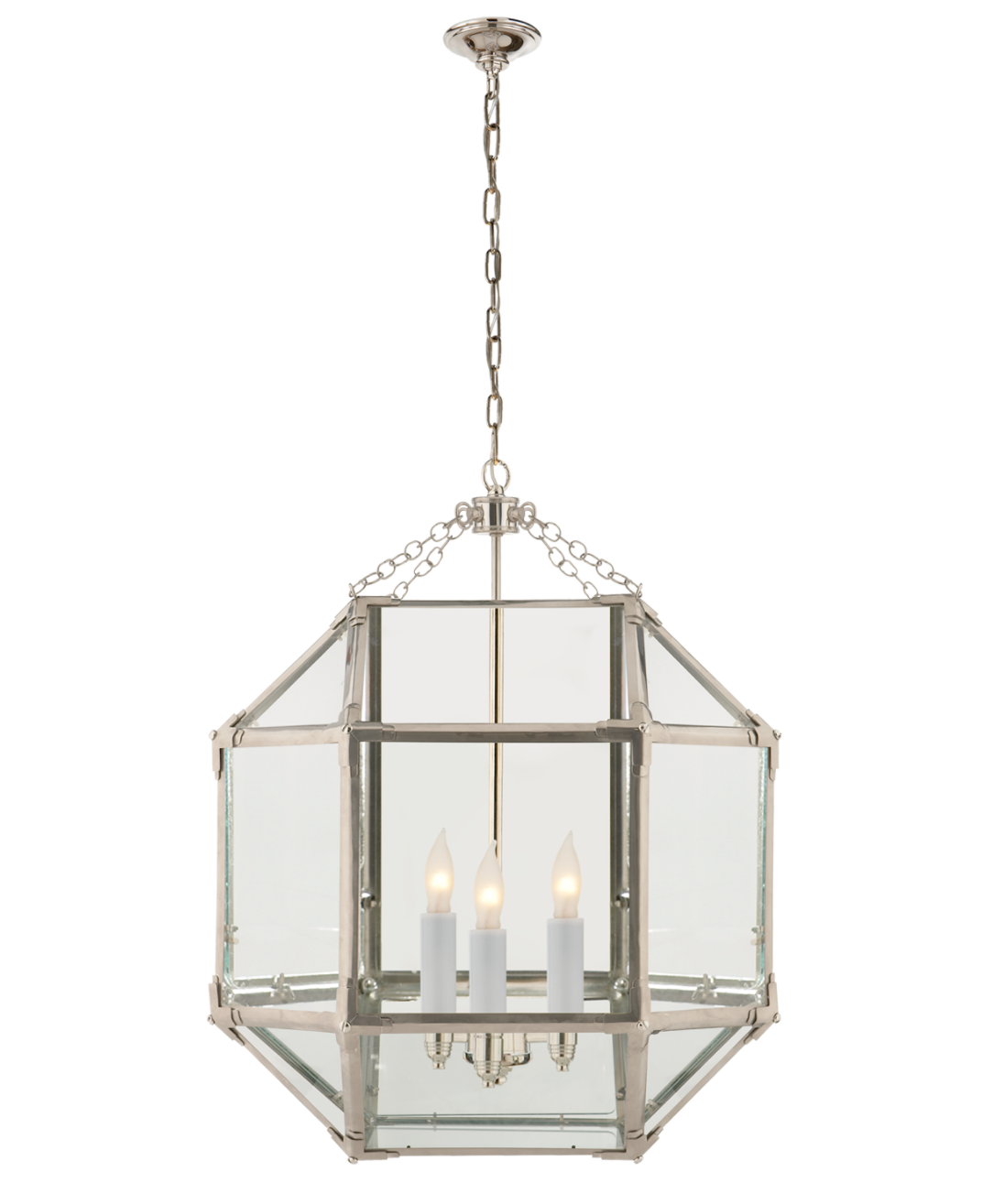 Clear Glass MED Lantern