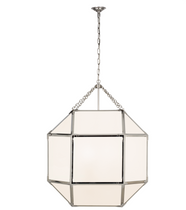 White Glass XL Lantern