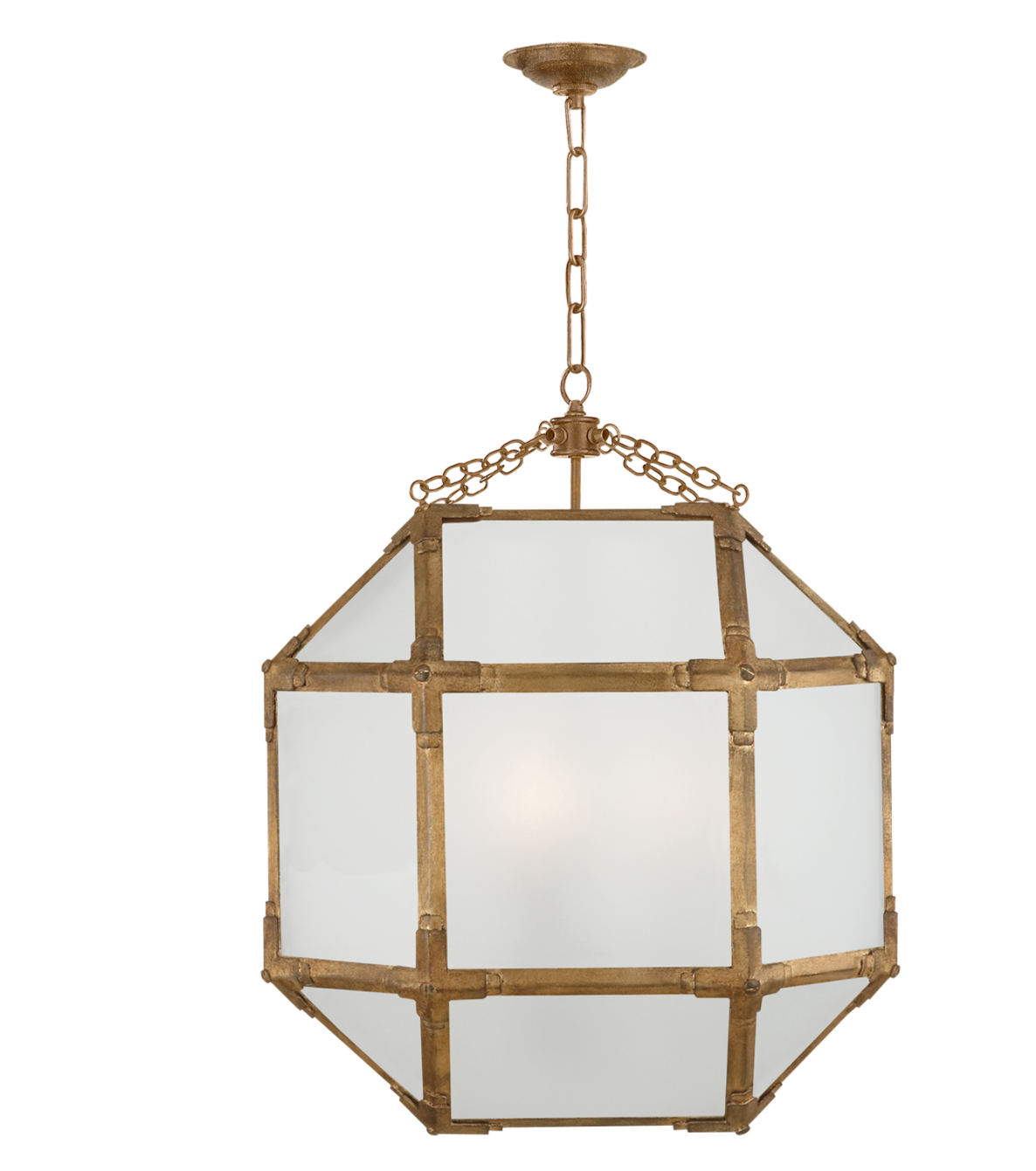 Frosted Glass MED Lantern