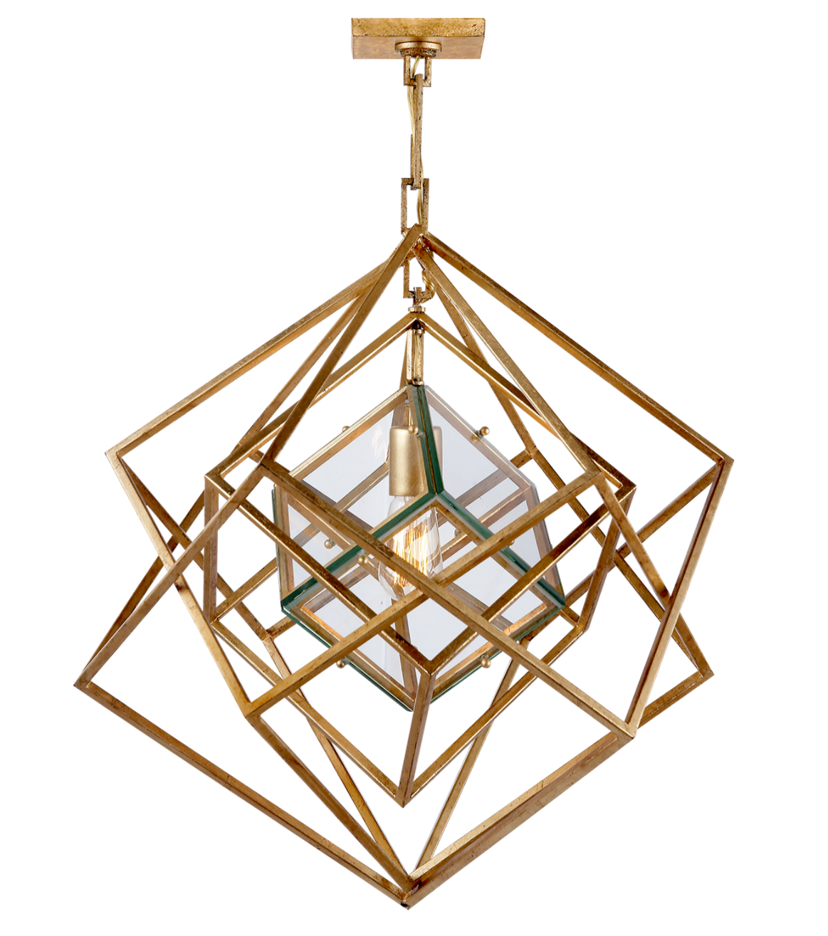 Cube SM Chandelier