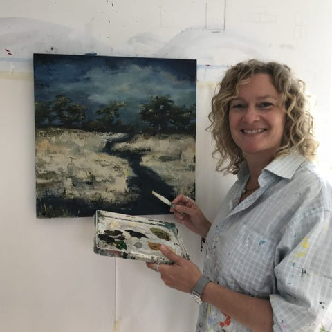 Beth Kirby painter and sculpture