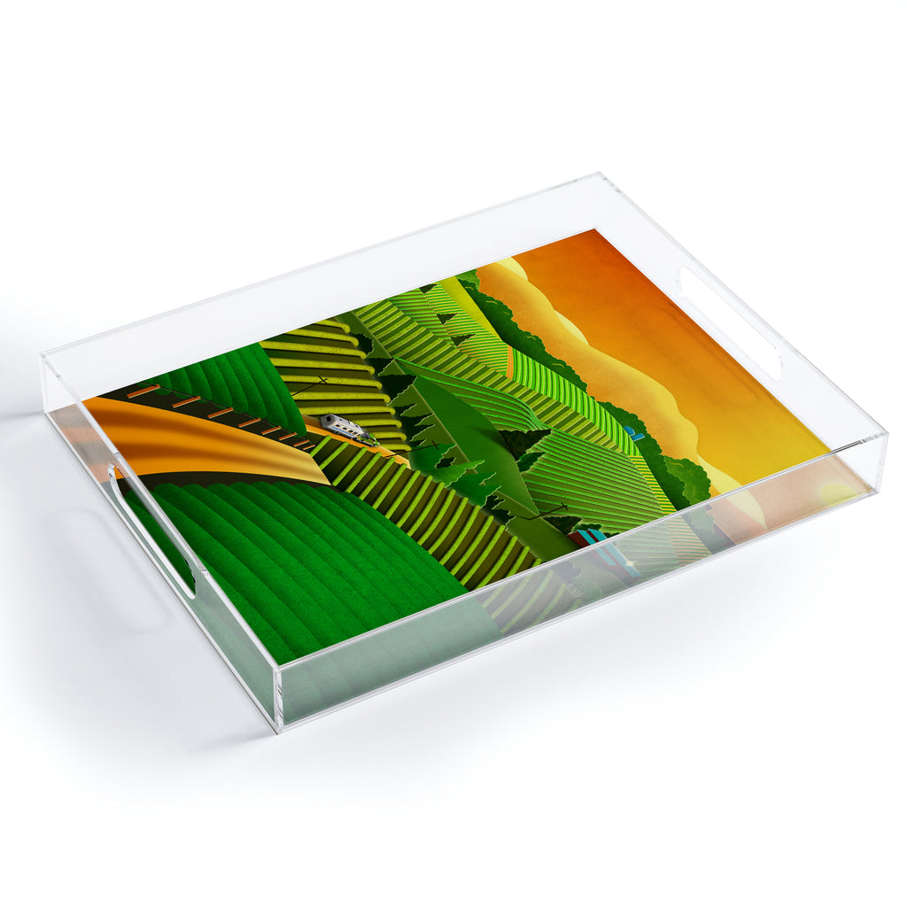 Sonoma Valley Acrylic Tray