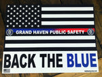 GRAND HAVEN PUBLIC SAFETY YARD SIGN