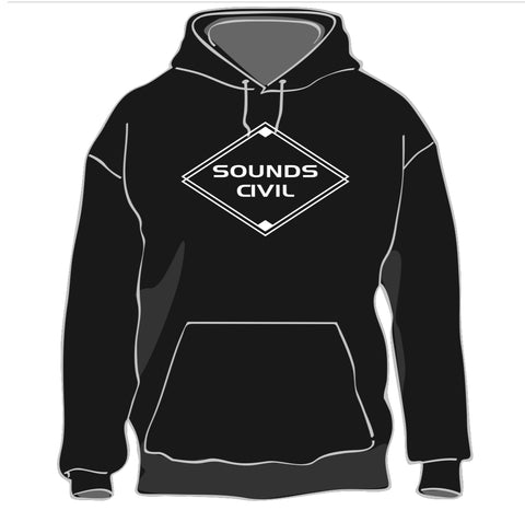 Sounds Civil Hooded Sweatshirt