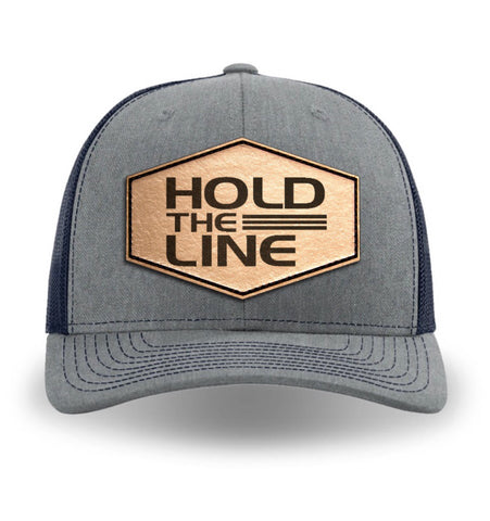 Hold The Line Logo hat