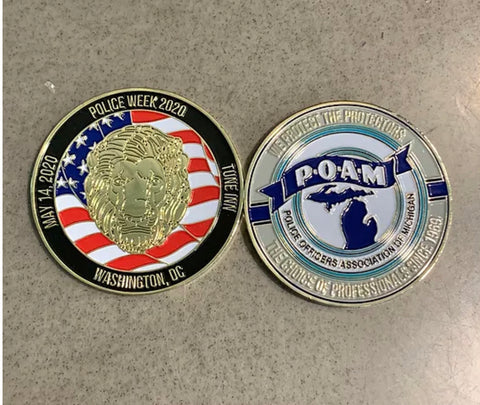 2020 Police Week Challenge Coin