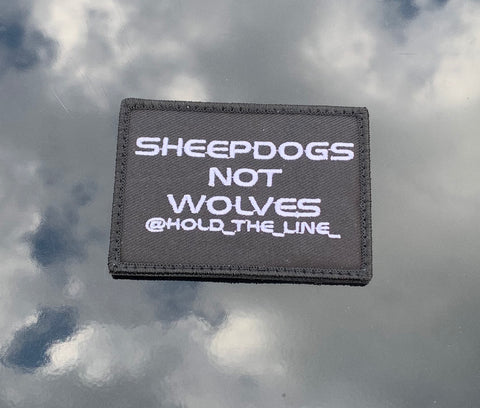 Sheepdogs Not Wolves Patch