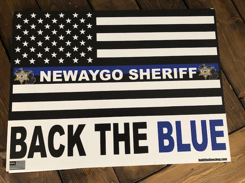 NEWAYGO SHERIFF YARD SIGN