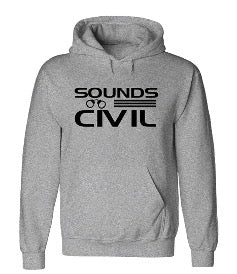 Sounds Civil Hoodie