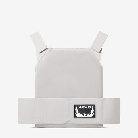 AR Concealment Plate Carrier - White Medium